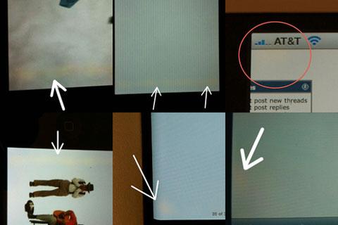 Problema pantalla iPhone4