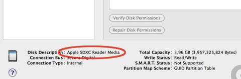 SDXC Mac Mini