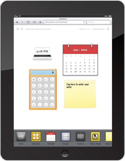 Dashboard-ipad