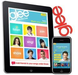 Glee iPhone iPad