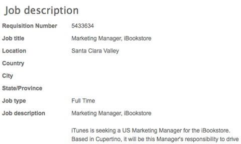 Marketing iBookStore