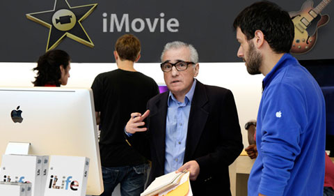 Martin Scorsese iMovie