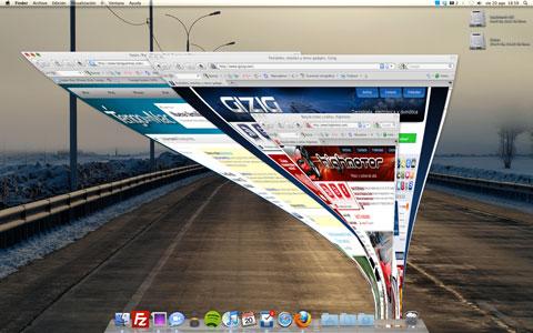 Minimizar todas las ventanas en Mac OS X