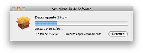Actualizacón Safari 5.0.2
