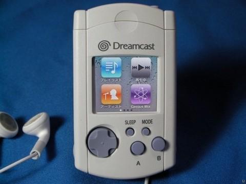 Dreamcast-iPod Nano