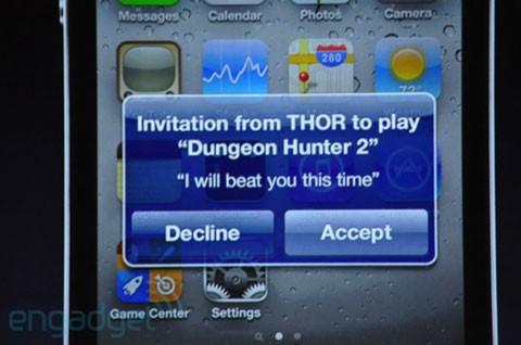 GameCenter para el iPhone