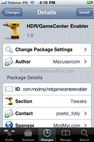 GameCenter-Cydia