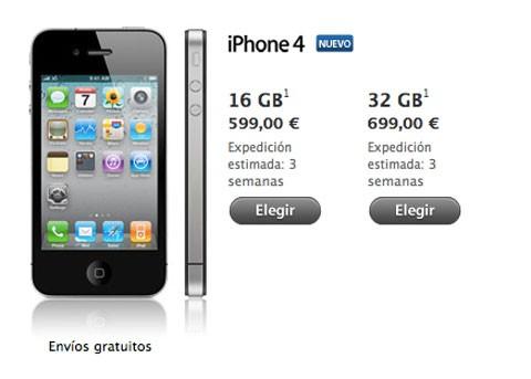 iPhone 4 Libre