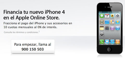 Financacion iPhone