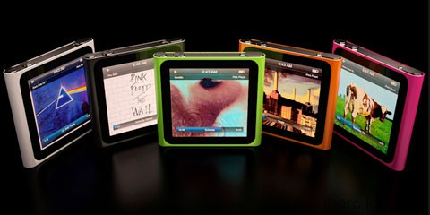 iPod Nano Mockup