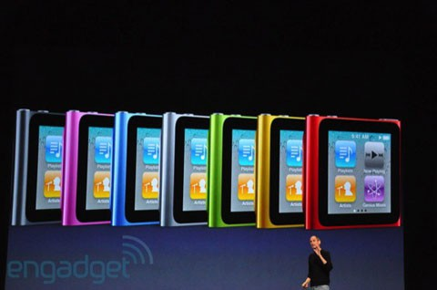 iPod Nano táctil