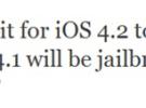 GreenPois0n para iOS 4.1 llegara antes del lanzamiento del iOS 4.2