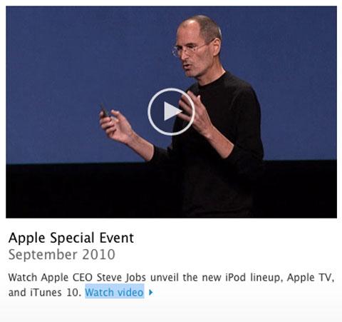 video keynote septiembre 2010