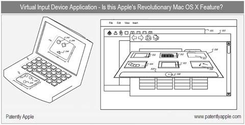 Mac OS X 3D, patente