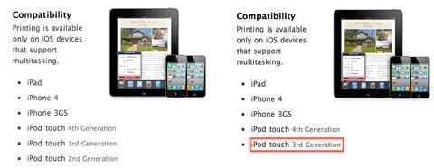 Dispositivos compatibles con AirPrint