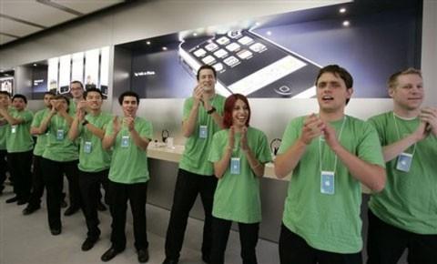 Empleados Apple