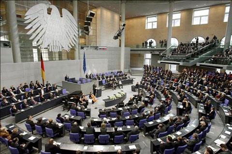 iPad parlamento alemán
