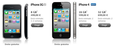 iPhone 4 Apple Store