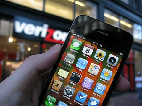 iphone de Verizon