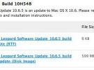 Apple libera una nueva beta de Mac OS X 10.6.5