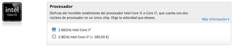 Procesadores MacBook Pro