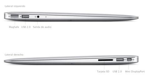 MacBook Air - Conectores