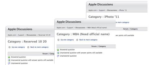 Nuevos foros Apple