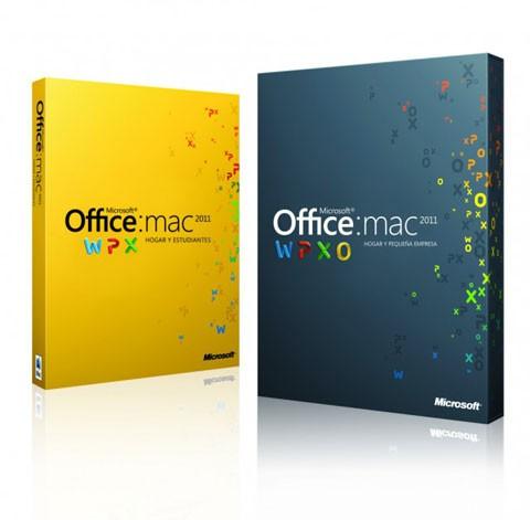 Microsoft 2011 para Mac ya está disponible en España