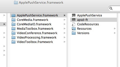 Push Service Mac