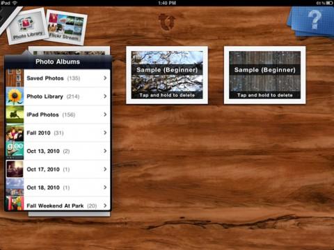 TouchUp: app para editar y compartir fotos desde el iPad