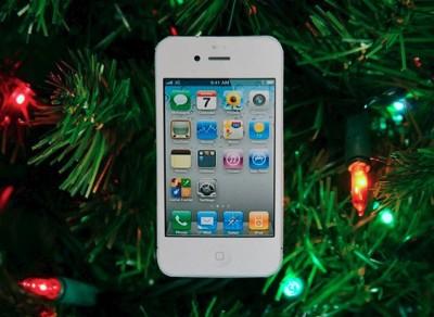 iPhone 4 Navidad