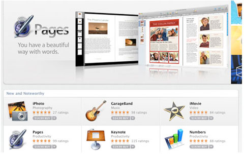 La nueva versión de iWork podría llegar con la Mac AppStore