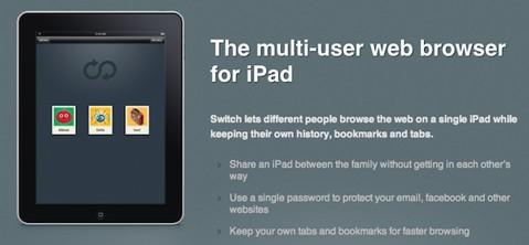 Switc for iPad