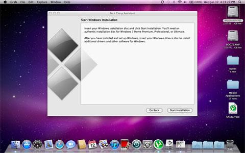 Apple no dará soporte para Windows 7 en 2009 como había prometido