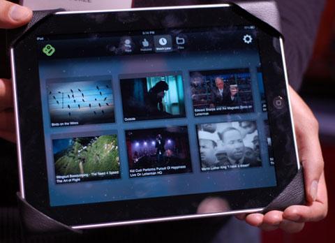 Booxe iPad