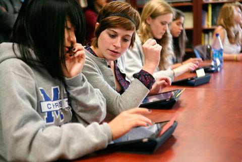 Estudiantes iPad