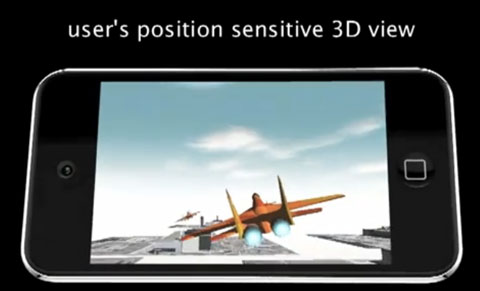 iPod Touch 3D
