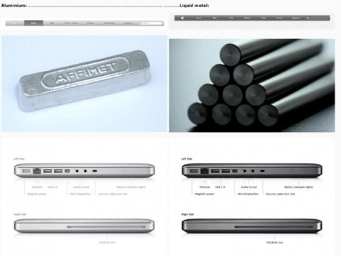 LiquidMetal, MacBook Pro