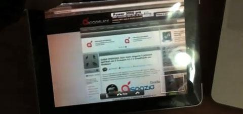 FaceTime en el iPad