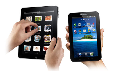 iPad vs Samsung Galaxy Tab