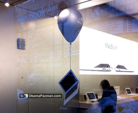 MacBook Air globo