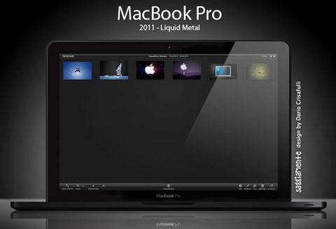 MacBook Pro Liquid Metal
