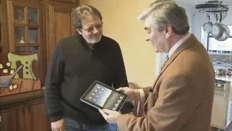 Maqueta iPad Walmart