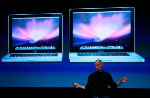 Steve Jobs MacBook Pro