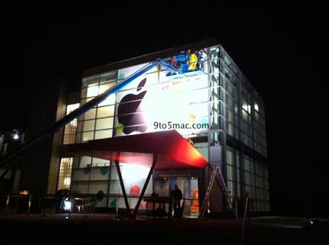 Apple ya está decorando el Yerba Buena Center