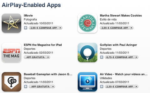 AirPlay AppStore