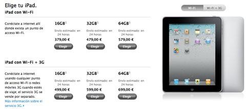iPad Rebaja