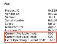 USB iPad