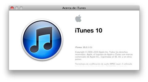 iTunes 10.2.1