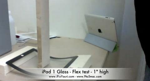 Resistencia pantalla iPad